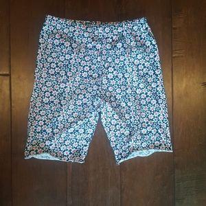 Uniqlo floral kids pants size medium